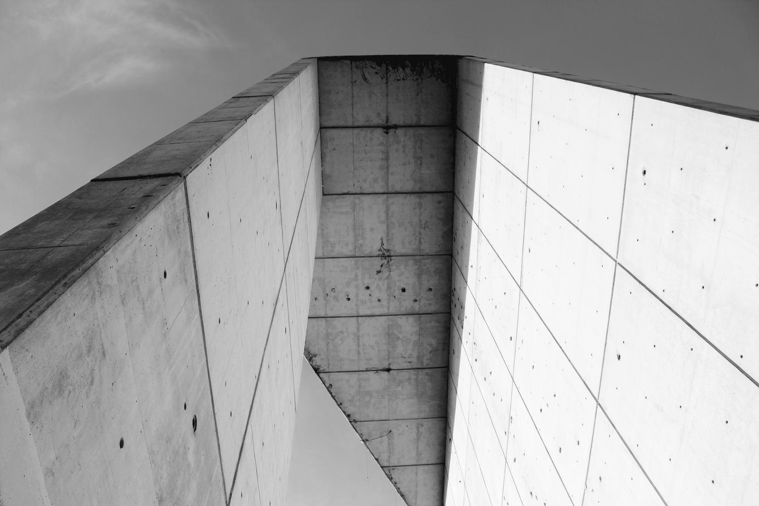 Concrete Building Facade
