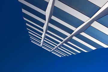 Modern Building View Upwards
