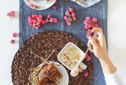 Homemade Dessert Rhubarb Cake
