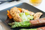 Chicken with Asparagus and Beer
