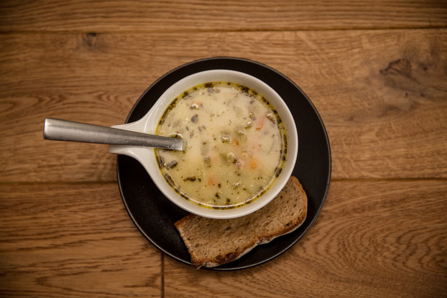 Bowl of Cucumber Soup