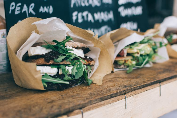 Healthy sandwiches Street Food
