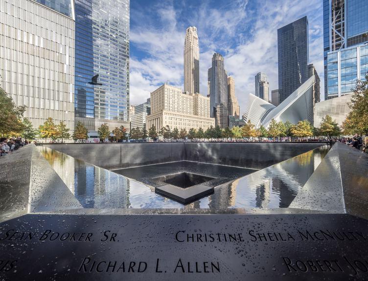 Ground Zero Memorial, New York City, USA