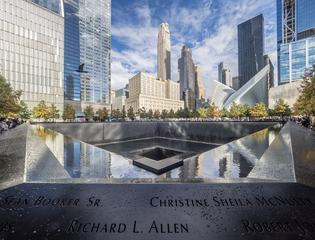 Ground Zero Memorial, New York City, USA