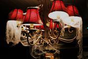 Lampshade Halloween Decoration