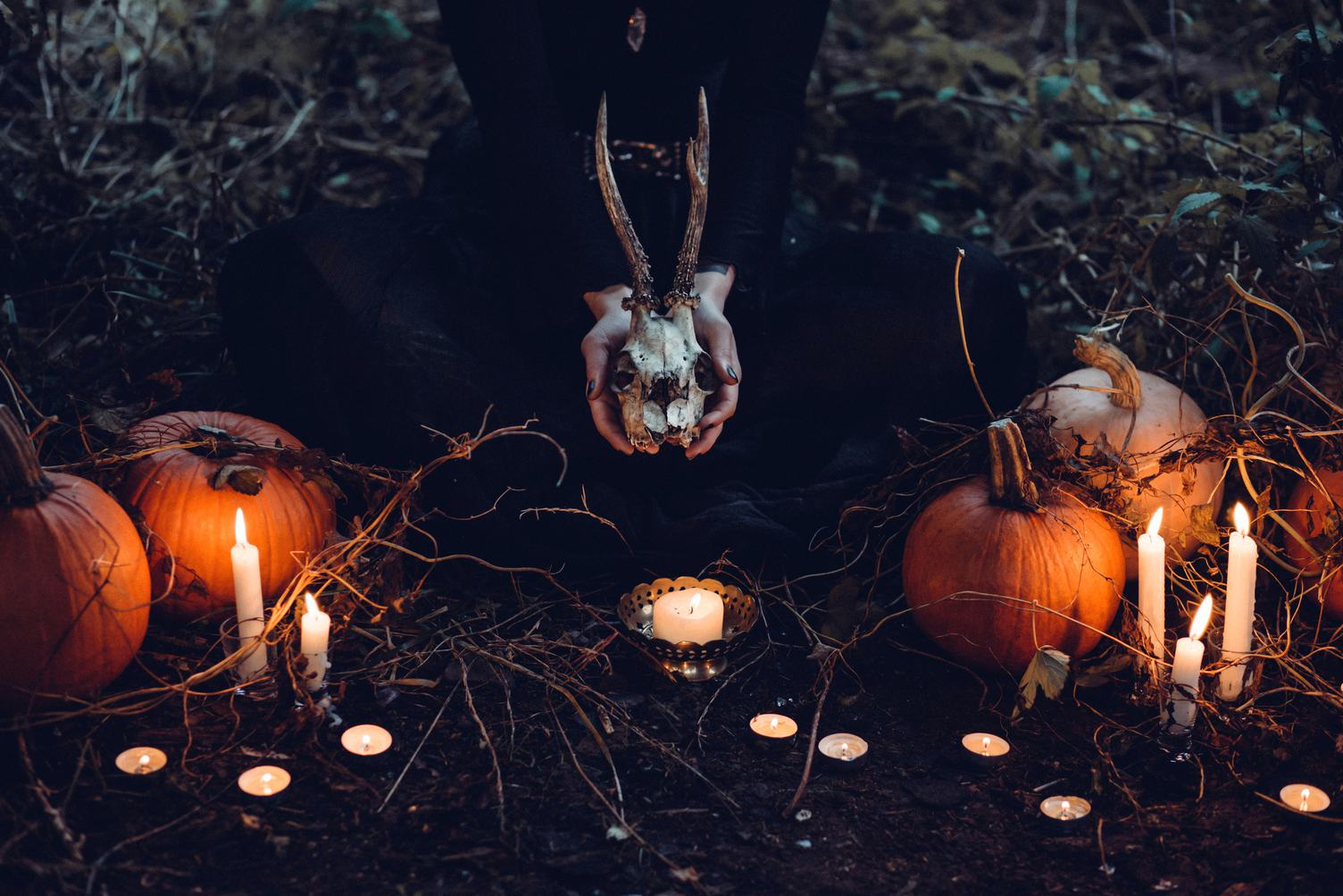 Creepy Halloween Decorations Outdoors