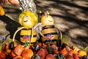 Maya the Bee and Willy Made of Pumpkins
