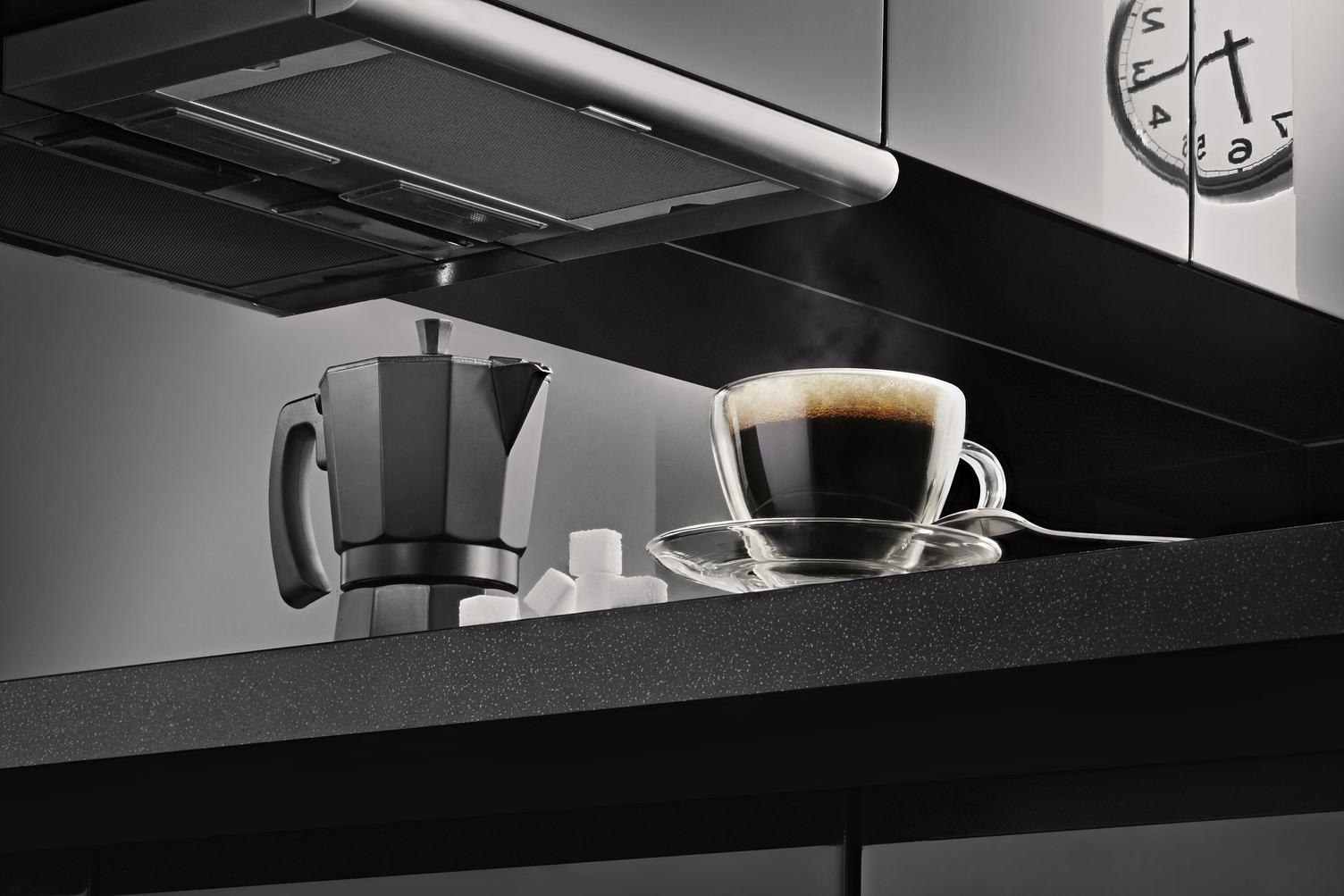 Hot Coffee from Percolator