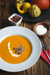 Cream Pumpkin Soup