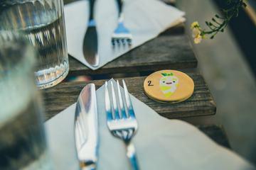 Restaurant Table Closeup