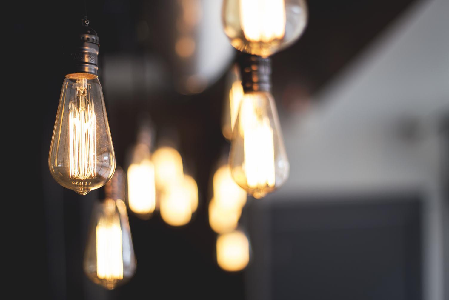Modern Light Bulbs Lamps
