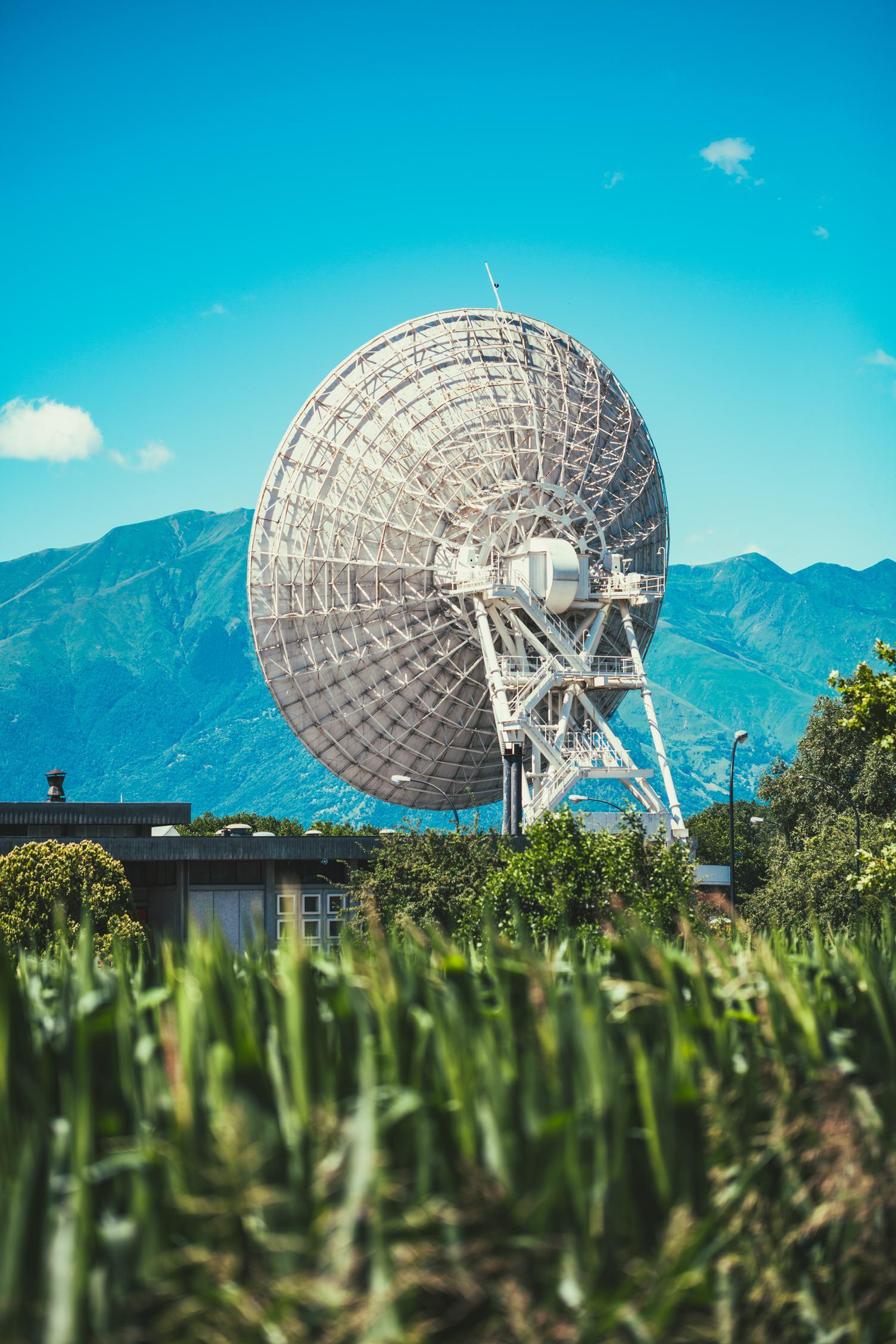 Mountain Satellite Radar