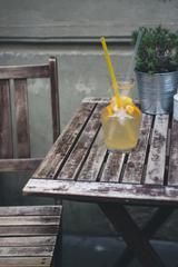 Orange Lemonade with Tubes