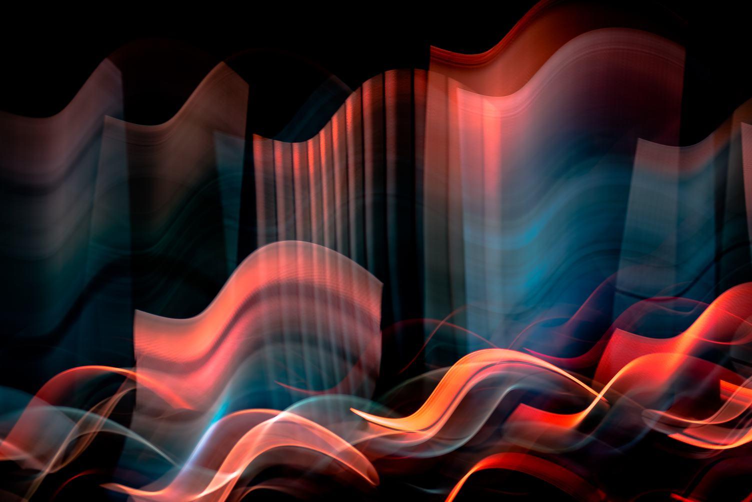 Amazing Abstract Light Streaks
