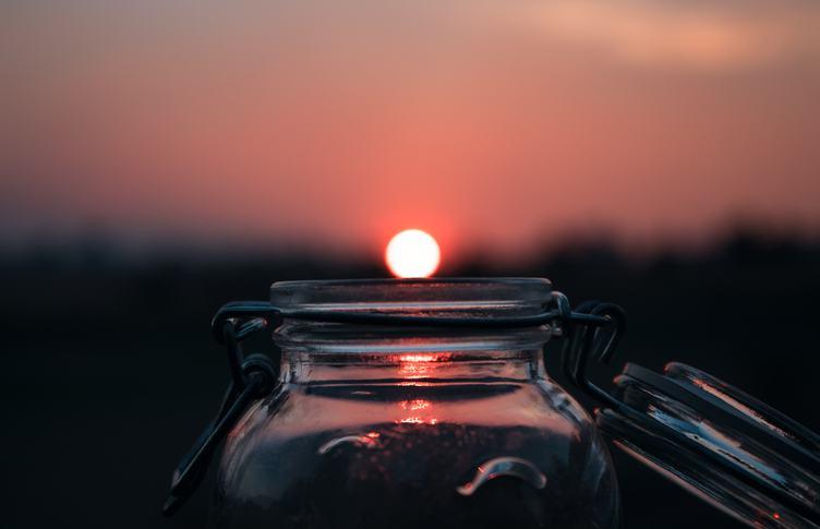 The Sun Is Hiding in a Jar