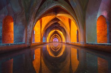 Baths of Doña María de Padilla in the Alcázar of Seville