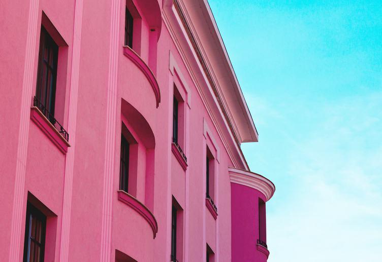 Pink Building, Timisoara, Romania