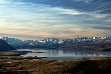 Panorama view of Tekapo Lake, New Zealand