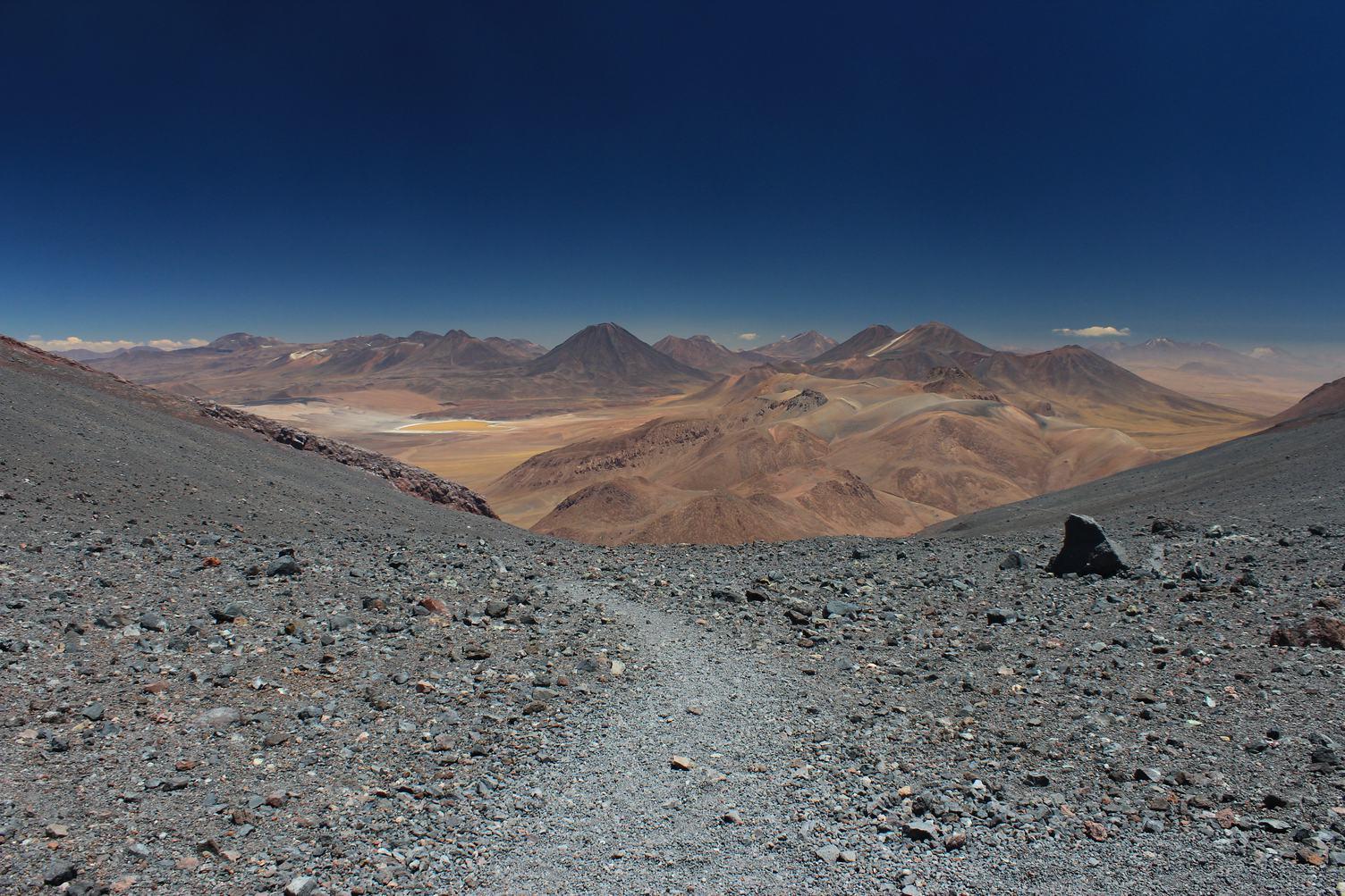 Desert Landscape of Atacama, Chile