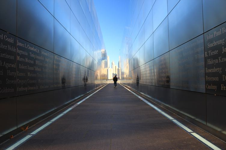 Empty Sky, Memorial in Jersey City, United States