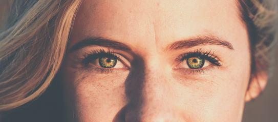 Freckles Woman Face Portrait