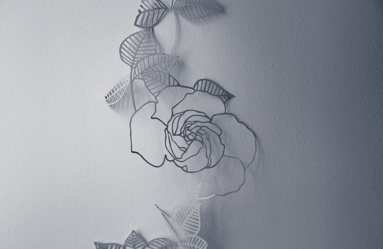 Paper Art Rose Flower