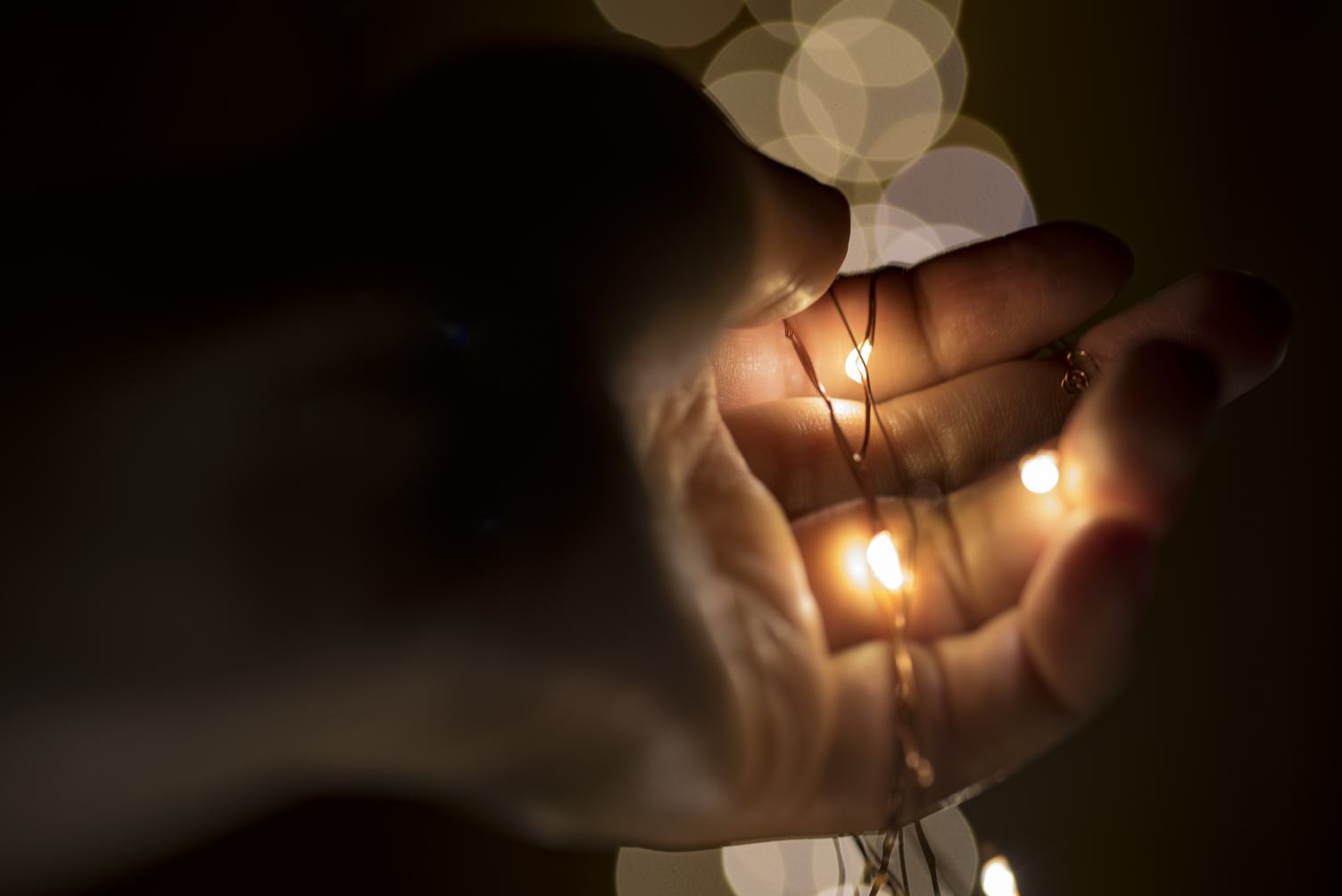 Tiny Lights in Hand