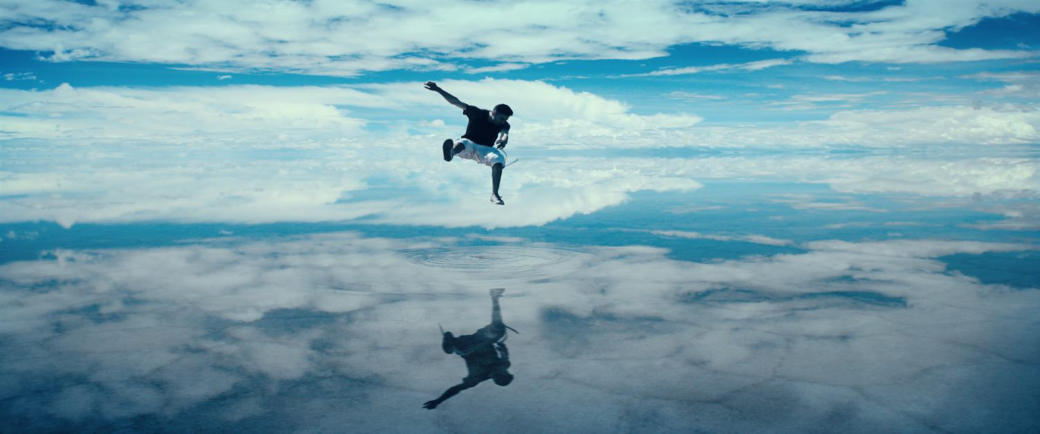 Jump into the Clouds above Water