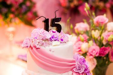 Cake for the Fifteenth Wedding Anniversary
