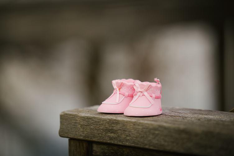 Newborn Girl Pink Shoe