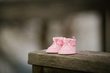 Newborn Girl Pink Shoe