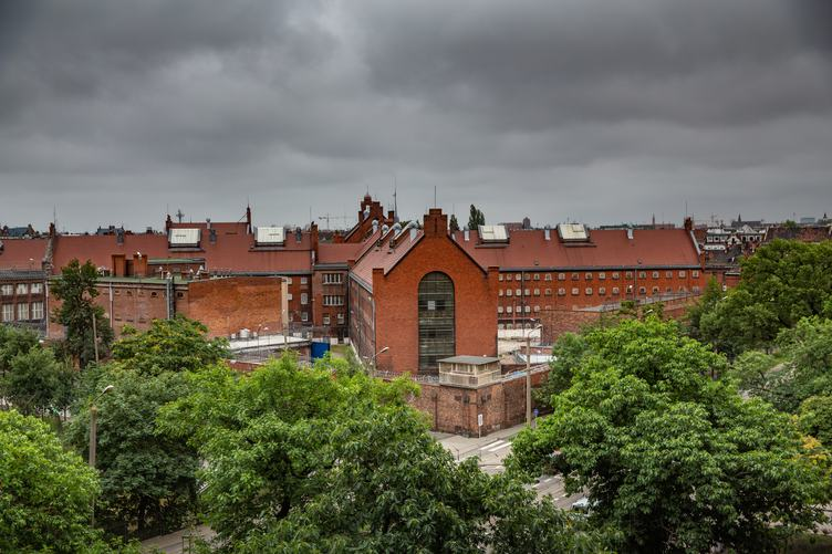 Old Prison Building in the City of Wroclaw