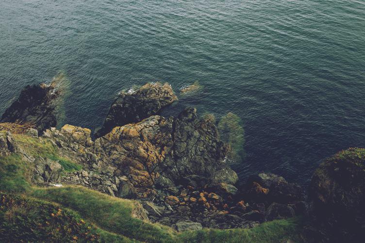 A Rocky Shore, Ireland