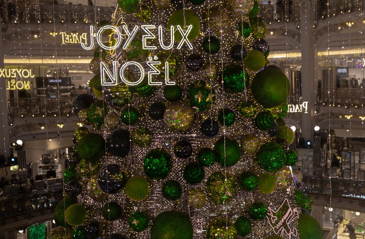 Galeries Lafayette Christmas Decorations