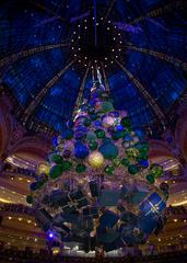 Christmas Tree in Galeries Lafayette