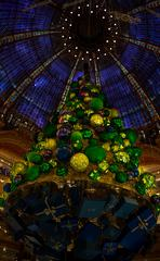 Christmas Tree Illuminations Galeries Lafayette