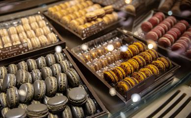French Macaroons Selection of Flavors