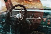 Retro Car Interior