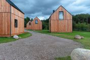 Small Wooden Houses in the Scandinavian Style
