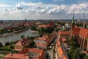 View of Wroclaw from the Cathedral Tower, Poland