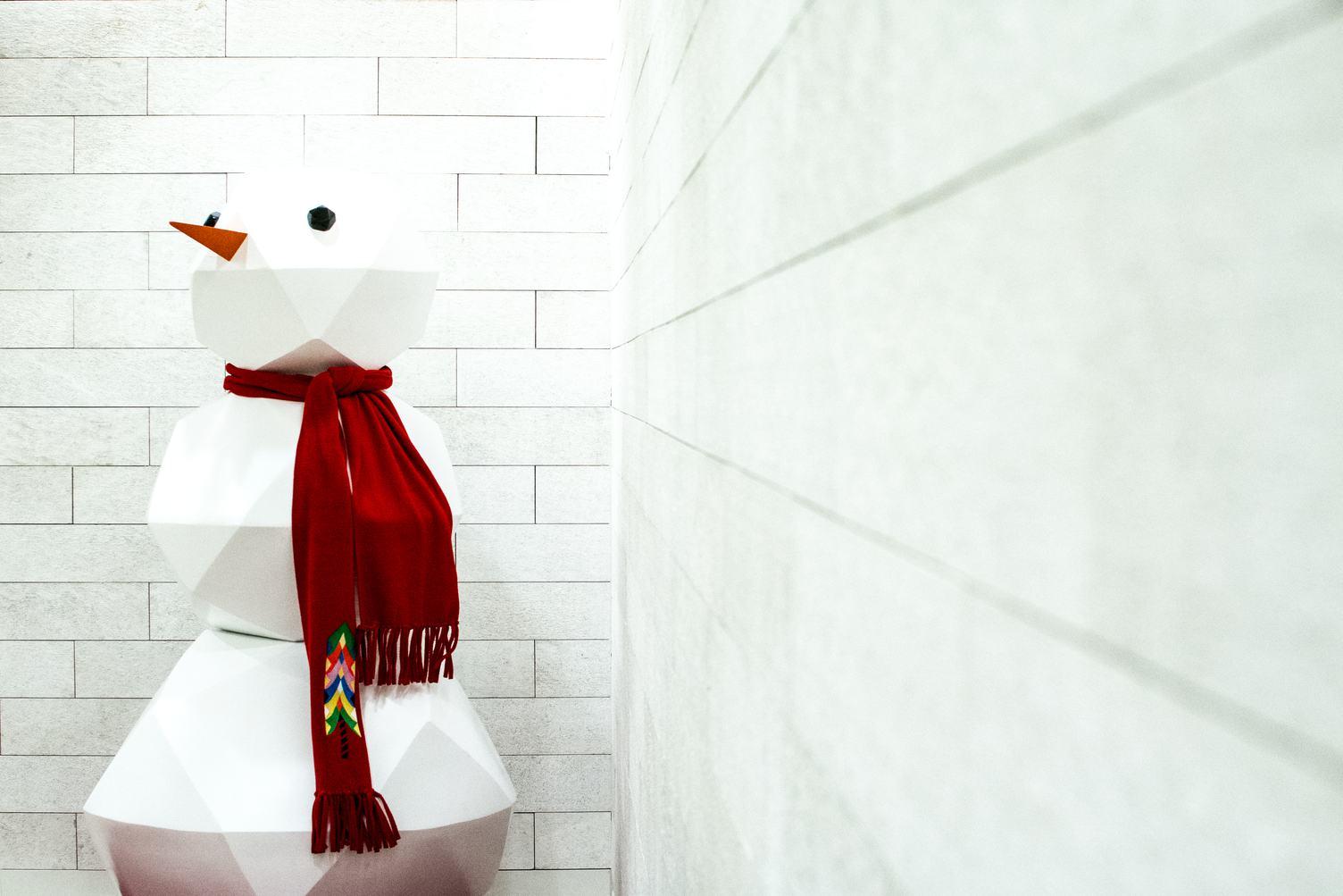 Christmas Decoration Paper Snowman