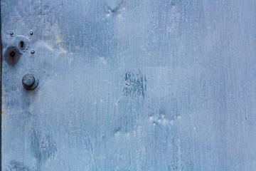 Blue Metal Door Texture