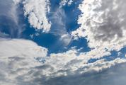 Clear Blue Sky with Clouds