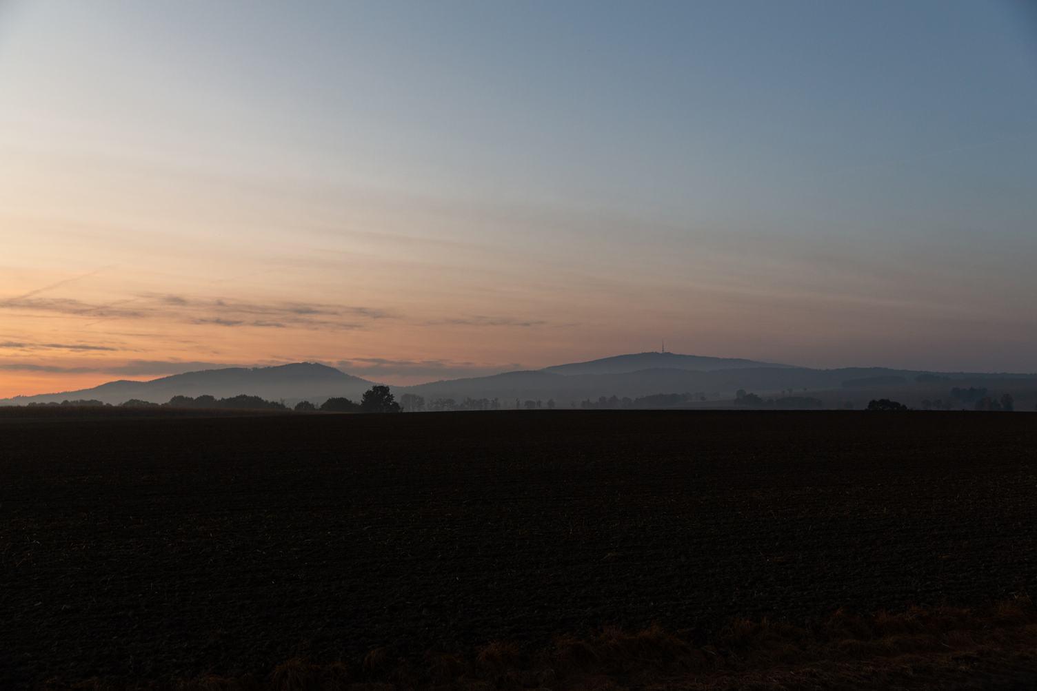 Mountain Landscape after Sunset