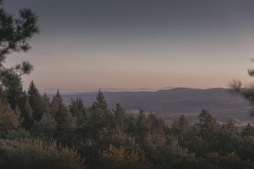 Mountain Evening Landscape