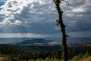 Amazing Sky and Mountain Panorama