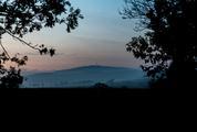 Ślęża Mountain Sunset